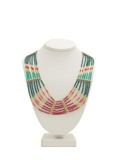Tribal Beaded 'N Layered Necklace
