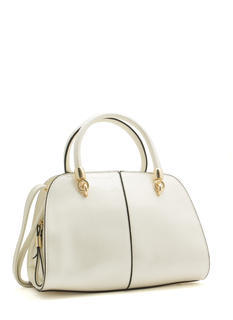 Shine On Structured Satchel Bag