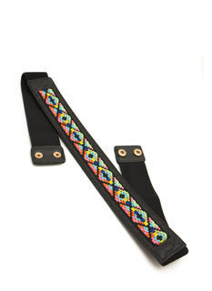 Tribal Tapestry Embroidered Belt