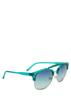 Top Bar Clubmaster Sunglasses