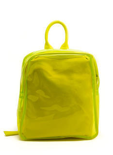 Make It Clear PVC Backpack