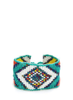 Beaded Tribal Tapestry Bracelet