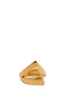 Shiny Abstract Angular Wrapped Ring