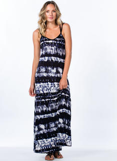 It's Do Or Tie-Dye Cross-Back Maxi