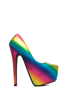 Make It Rainbow Iridescent Platforms