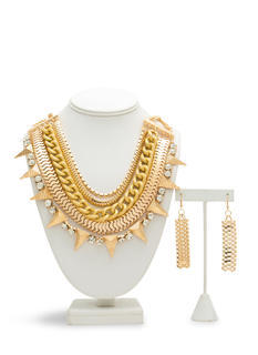 Chain Gang Mixed Necklace Set