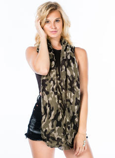 Blend In Camo Infinity Scarf