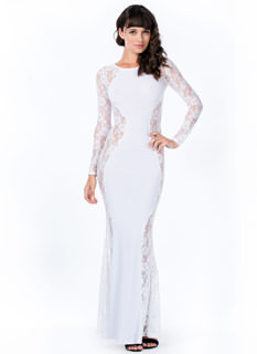 Rose To The Top Lace Mermaid Maxi