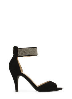That Special Sparkle Ankle Cuff Heels