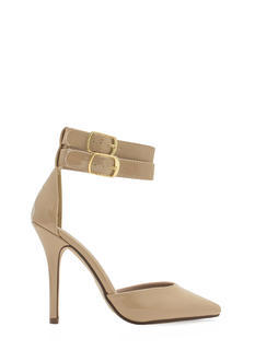 Two-Timer Ankle Strap D'Orsay Heels