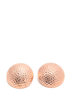 Hammered Dome Earrings