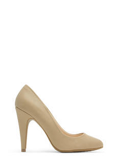 Point Well Taken Almond Toe Heels