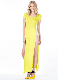 Trends In High Places Side Slit Maxi