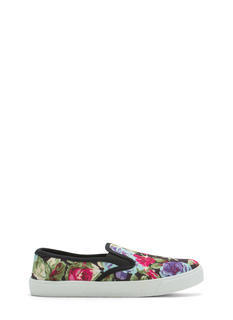 More Flower To You Slip-On Sneakers