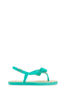 Bow Ahead Strappy Jelly Sandals