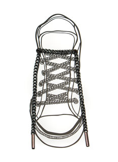 Metallic Chain Shoe Laces