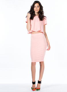 Play It Pretty Pencil Skirt