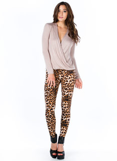 Animal Instinct Leopard Leggings