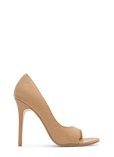 Go Halfsies D'Orsay Faux Leather Heels