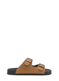 Let U Slide Faux Nubuck Sandals