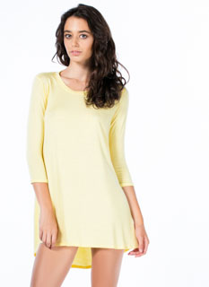 To The Tee Shirt Tunic Dress