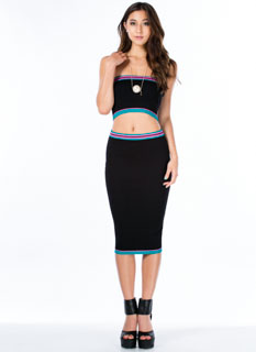 Be An Athlete Midi Skirt