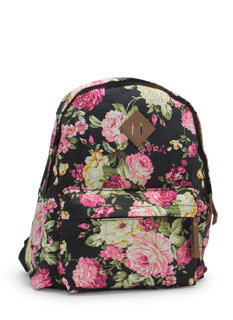 Floral Dream Printed Backpack