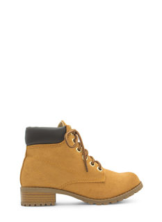 Take A Hike Faux Suede Boots