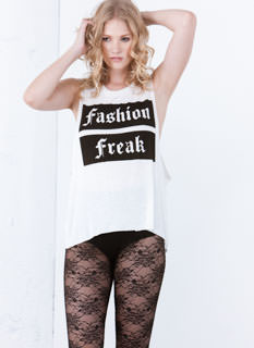 Let Your Fashion Freak Flag Fly Top