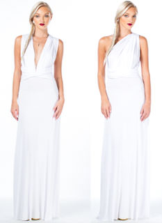 Chic-Shifter Convertible Maxi Dress