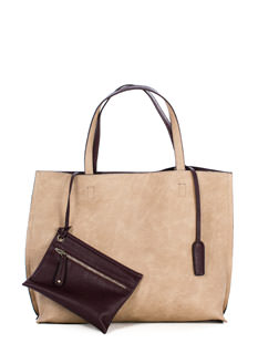 Two-Tone Reversible Tote Bag