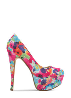 Watercolor Wonderland Floral Platforms