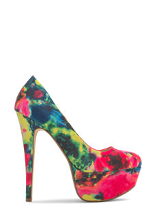 Watercolor Wonderland Abstract Platforms