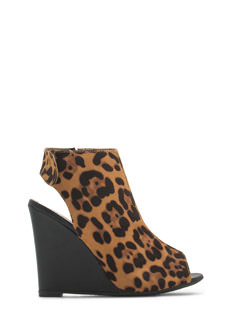 Haute 'N Chic Wedge Booties