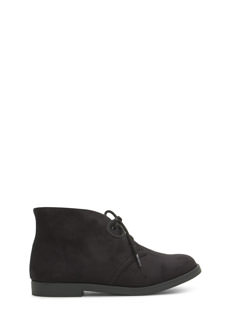 Double Dare You Faux Suede Booties