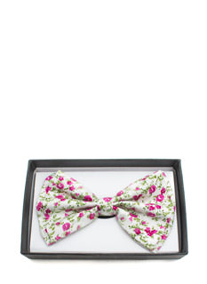 Floral Double Layer Bowtie