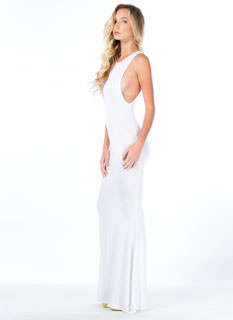 Flex Your Muscle Tank Mermaid Maxi