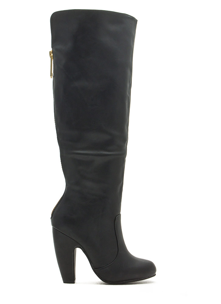 Zip To It Heeled Boots