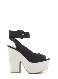 Thru Thick 'N Thin Platform Heels