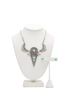 Missed Call Aztec Necklace Set