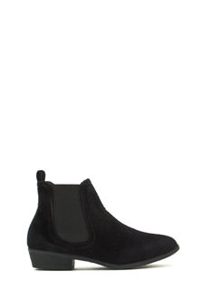 Twisted Classic Chelsea Booties