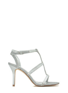 Moonlit Dancer Faux Jewel Stiletto Heels