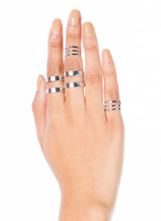 Cut It Out Ring Set