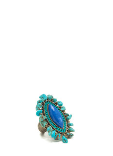 Free Spirit Faux Stone Ring
