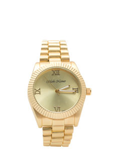 Roman Empire Metallic Boyfriend Watch