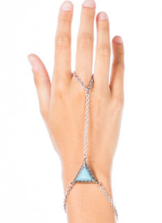Triangulated Moroccan Hand Bracelet