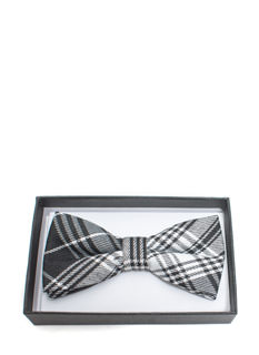 It's A Mad Plaid World Bowtie