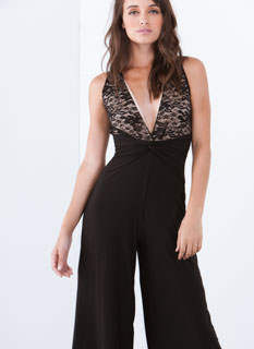 Lace Is More Palazzo Jumpsuit