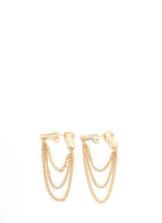Bang Bang Draped Chain Earrings