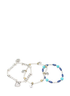 Beaded Nomad Bracelet Set